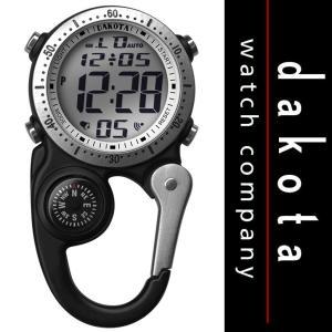 Dakota ダコタ  Watch Company Digi Clip Watch デジタル クリップ 時計 マイクロライト Black /アウトドア・懐中時計・日焼け・黒・ブラック