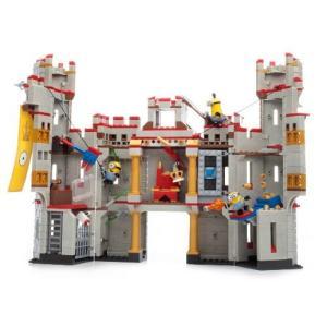 人気のミニオンズ♪ 組み立てブロックおもちゃ♪ お城で大冒険だ!  ■商品内容 ・メガブロック デス...