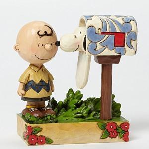 Jim Shore for Enesco Peanuts Charlie Brown & S...