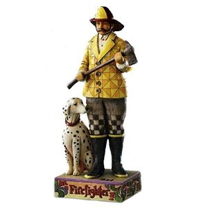 Jim Shore Fire Fighter with Dalmatian 4007231■商品内容...