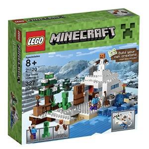 レゴ LEGO製 マインクラフト LEGO Minecraft 21120 the Snow Hideout Building Kit /レゴ レゴブロック ブロック 雪の隠れ家 マイクラ 送料無料|mj-market