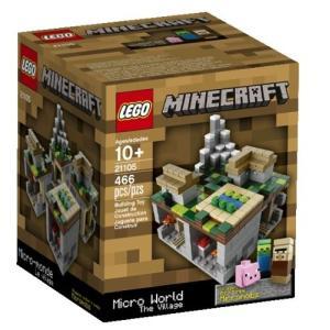 レゴ LEGO製 マインクラフト LEGO Minecraft Micro World The Village 21105 /レゴ レゴブロック ブロック 村 マイクラ 送料無料|mj-market