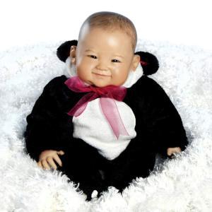 臨床教育 リアル ベビードール 新生児人形 コレクション 約50cm 乳児 かわいい  ベビー人形 ビニール製 Paradise Galleries Reborn Asian Baby Doll, 20 inch Re|mj-market