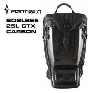 ボブルビー カーボン リュック デイパック 安心の日本正規品 ギフト Point65 BOBLBEE 25L GTX CARBON Black GhostBlack 送料無料(沖縄は+900円)|mjsoft