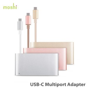 moshi USB-C Multiport Adapter USB-C用 Thunderbolt 3用 HUB ハブ 3イン1 MacBook 12インチ対応 モシ HDMI出力 4k