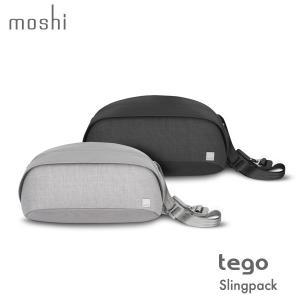 スキミング防止 スリングパック ボディバッグ テゴ モシ moshi Tego Sling Pack メンズ ギフト 通学 通勤 送料無料(沖縄は+900円)|mjsoft