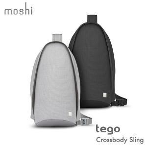 スキミング防止 クロスボディー スリング テゴ モシ moshi Tego Crossbody Sling メンズ ギフト 通学 通勤 送料無料(沖縄は+900円)|mjsoft