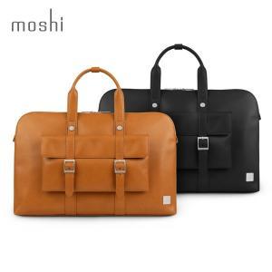moshi Treya Briefcase  薄マチブリーフ メンズ レディース 3ウェイ ショルダー ハンド リュック ヴィーガンレザー ビジネス カジュアル mjsoft
