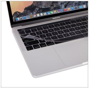 Touch Bar搭載 MacBook Pro キーボードカバー moshi Clearguard ...