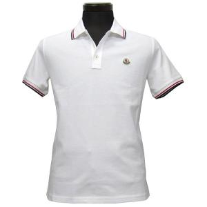 品番:091 8345600 84556 001 カラー:ホワイト 仕様:左胸 ロゴワッペン付き 襟...