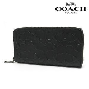 コーチ 長財布 メンズ COACH Wallet アコーディオン シグネチャー クロスグレインレザー アウトレット F58113 blk
