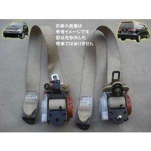 H16 エリシオン RR3 3列目シートベルト左右セット|mkparts-2000