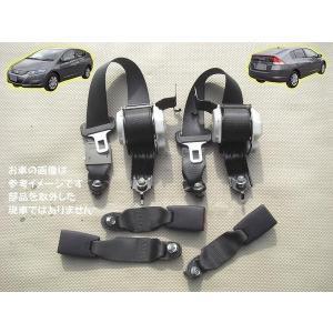 H21 インサイト ZE2 Rシートベルト左右+キャッチ3個|mkparts-2000