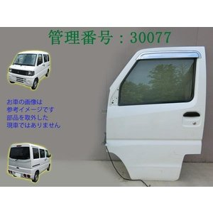 H16 ミニキャブ U61V/U62V/U71V W09/白 助手席ドア|mkparts-2000