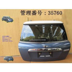 H21 ミニクーパー ABA-MF16 ブルー/青系 バックドア mkparts-2000