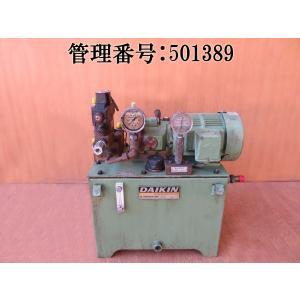 DAIKIN/ダイキン 200V/50/60hz ピストンポンプ/1RXT-10/オイルユニット/油圧ユニット/T480117G/モーターポンプ/M8A1X-1-10/バルブボディ付 mkparts-2000