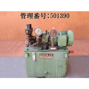 DAIKIN/ダイキン 200V/50/60hz ピストンポンプ/1RXT-10/オイルユニット/油圧ユニット/T480117H/モーターポンプ/M8A1X-1-10/バルブボディ付 mkparts-2000