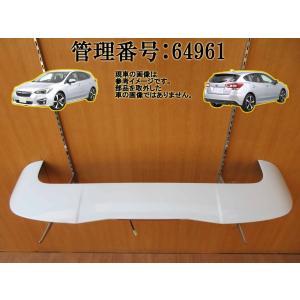 H29 インプレッサ GT6 K1X/ホワイト/白 リアスポイラー/リアウィング/リヤウイング|mkparts-2000