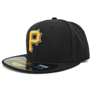 【セール】MLB パイレーツ キャップ/帽子 オルタネート2009 ニューエラ Authentic Performance On-Field キャップ mlbshop