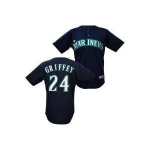 MLB マリナーズ ケン・グリフィーJR. キッズユニフォーム オルタネイト Majestic|mlbshop