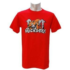 Minor バタビア・マックドッグス カージナルス 1A Tシャツ レッド マジェスティック Logo Tシャツ|mlbshop