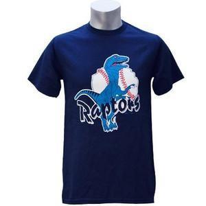 Minor オグデン・ラプターズ ドジャース R Tシャツ ネイビー マジェスティック Logo Tシャツ|mlbshop