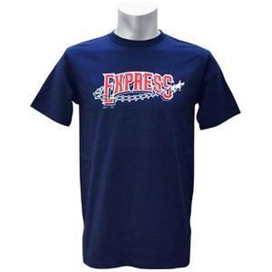Minor ラウンドロック・エクスプレス アストロズ 3A Tシャツ ネイビー マジェスティック Logo Tシャツ|mlbshop