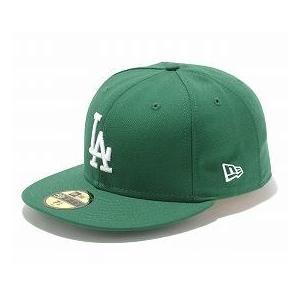 MLB ドジャース キャップ/帽子 ケリー/ホワイト ニューエラ 5950 Custom Color キャップ|mlbshop