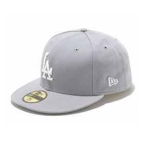 お取り寄せ MLB ドジャース キャップ/帽子 グレー/ホワイト ニューエラ 5950 Custom Color キャップ|mlbshop