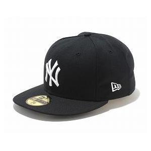 MLB ヤンキース キャップ/帽子 ブラック/ホワイト ニューエラ 5950 Custom Color キャップ|mlbshop
