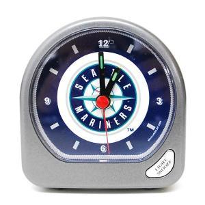 MLB マリナーズ 目覚まし時計 ウィンクラフト/WinCraft Alarm Clock|mlbshop
