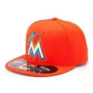 【セール】MLB マーリンズ キャップ/帽子 ロード ニューエラ Authentic Performance On-Field キャップ 2012【500円引き】|mlbshop