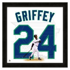 MLB マリナーズ ケン・グリフィーJR. フォト ファイル/Photo File UNIFRAME 20 x 20 Framed Photographic|mlbshop
