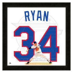 MLB レンジャーズ ノーラン・ライアン フォト ファイル/Photo File UNIFRAME 20 x 20 Framed Photographic mlbshop