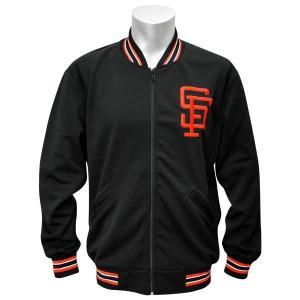MLB ジャイアンツ ジャケット ブラック ミッチェル&ネス Authentic BP ジャケット 【1709MLB】|mlbshop