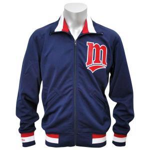MLB ツインズ ジャケット ネイビー ミッチェル&ネス Authentic BP ジャケット 【1709MLB】|mlbshop