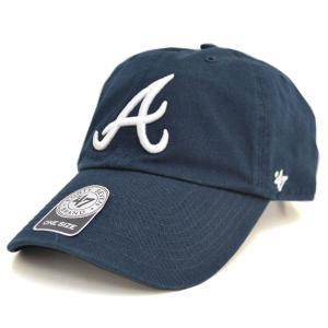 MLB ブレーブス キャップ/帽子 ロード 47ブランド Cleanup Adjustable キャップ|mlbshop