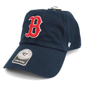 MLB レッドソックス キャップ/帽子 ゲーム 47ブランド Cleanup Adjustable キャップ|mlbshop