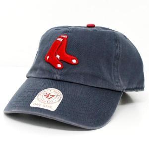MLB レッドソックス キャップ/帽子 オルタネート 47ブランド Cleanup Adjustable キャップ|mlbshop