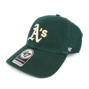 MLB アスレチックス キャップ/帽子 ロード 47ブランド Cleanup Adjustable キャップ|mlbshop