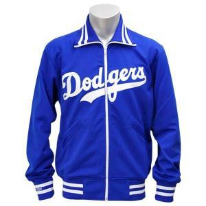 MLB ドジャース ジャケット ブルー ミッチェル&ネス Authentic BP ジャケット 【1709MLB】|mlbshop