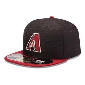 MLB ダイヤモンドバックス キャップ/帽子 ゲーム ニューエラ Authentic Diamond Era 59FIFTY BP キャップ 20131607MLB 【1709CAP】|mlbshop