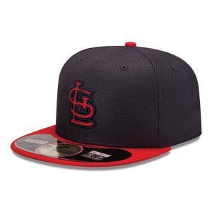 MLB カージナルス キャップ/帽子 ゲーム ニューエラ Authentic Diamond Era 59FIFTY BP キャップ 20131607MLB 【1709CAP】|mlbshop