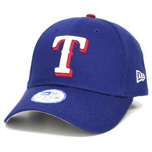 MLB レンジャーズ キャップ/帽子 ジュニア用 ニューエラ Twill Cotton キャップ mlbshop