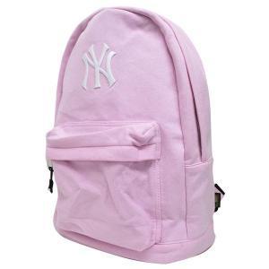 お取り寄せ MLB ヤンキース リュック/バックパック メンズ ピンク イーカム/E-come スウェット Daypack|mlbshop