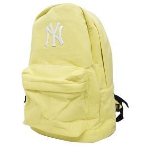 お取り寄せ MLB ヤンキース リュック/バックパック メンズ イエロー イーカム/E-come スウェット Daypack|mlbshop