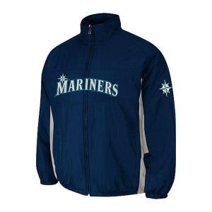【決算セール】MLB マリナーズ オーセンティック ダブル クライメイト オンフィールド ジャケット マジェスティック/Majestic|mlbshop
