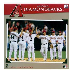 MLB ダイヤモンドバックス カレンダー JFターナー/JF Turner 2014 12×12 TEAM WALL カレンダー|mlbshop