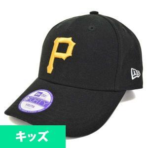 MLB パイレーツ キッズキャップ/帽子 ブラック ニューエラ Youth Pinch Hitter キャップ mlbshop