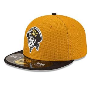MLB パイレーツ キャップ/帽子 オルタネート ニューエラ Authentic Diamond Era 59FIFTY BP キャップ 20141607MLB mlbshop